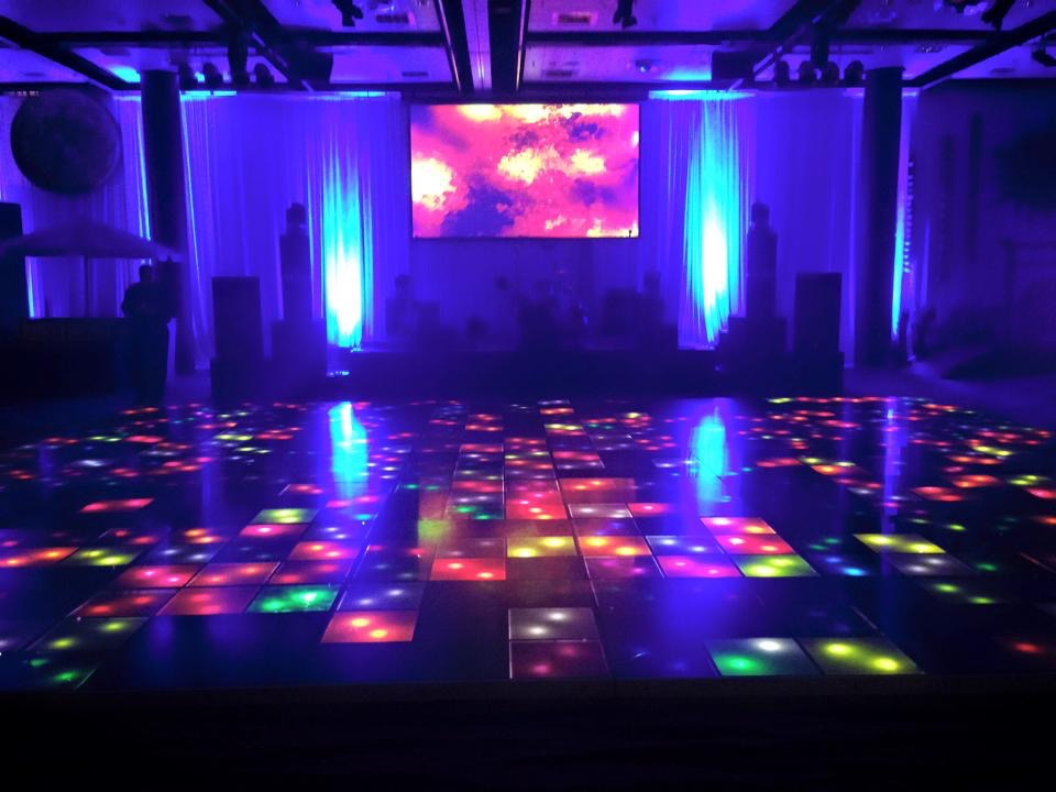 Perfect for all occasions buy an illuminated dance floor for Illuminated floor